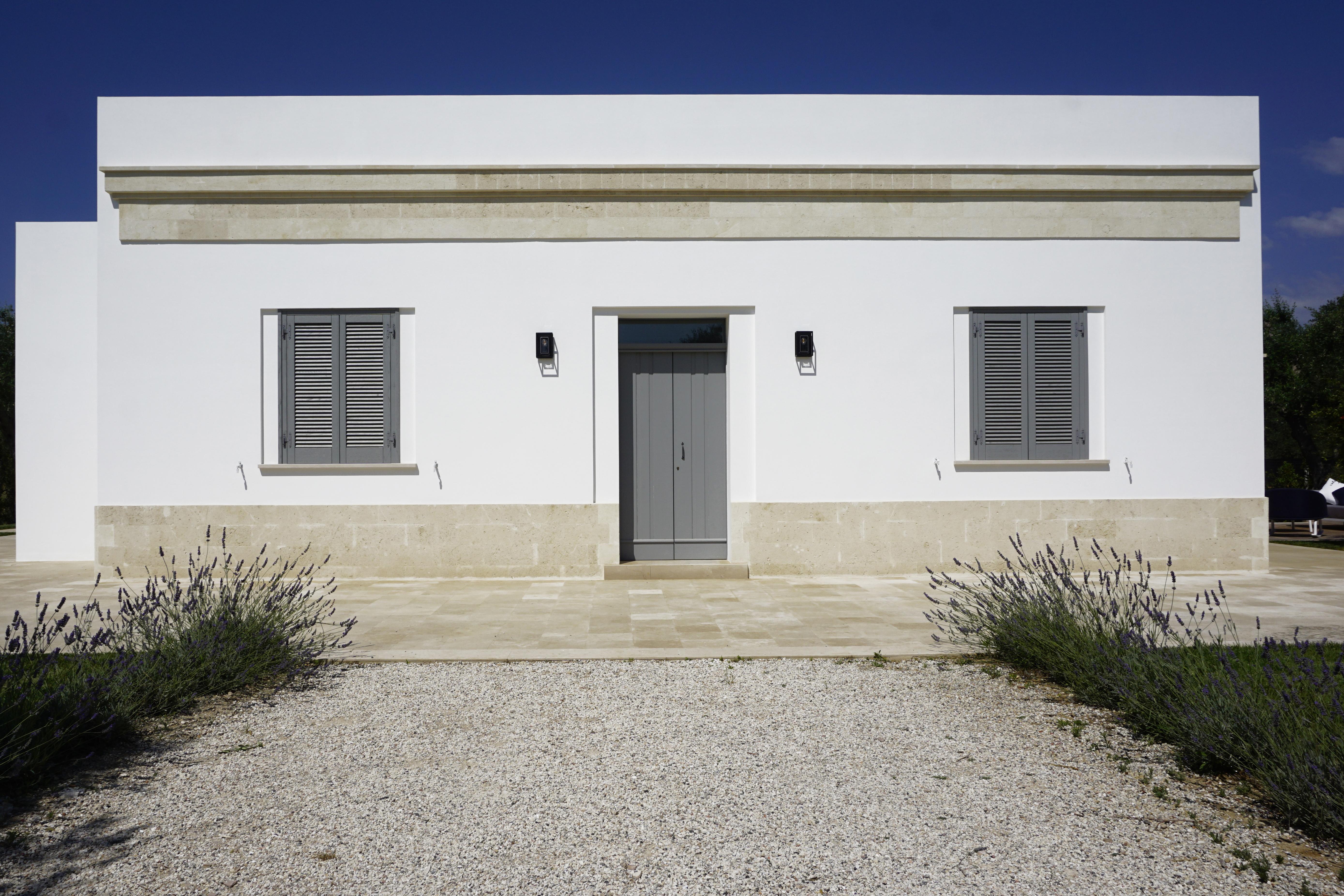 Facciata Casa Di Campagna casa pinto - insite architetture